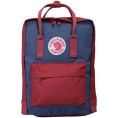 Fjallraven Kanken Backpack - Royal Blue/Oxford Red