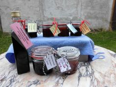 6 Jams  1 liqueur  gift package by ChilisaucenUNDmehr on Etsy, €24.40