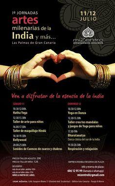 Programa; I Jornadas de artes milenarias de la india y más...