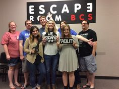 This group was able to escape Dr. Andrew's lab in 54 minutes!