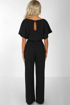 Lace Up Plus Size Formal Jumpsuits For Wedding Elegant Summer Red Plus Size Loose Women Bandage Long Overalls High Waist Black Jumper Outfit, Jumper Outfit Jumpsuits, Black Jumpsuit Outfit, Jumpsuit Casual, Long Jumpsuits, Jumpsuits For Women, Black Romper Pants, Schwarzer Overall Outfit, Plus Size Formal Jumpsuit