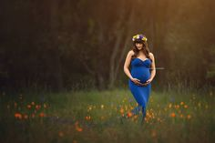 CATHERINE Maternity Dress for Photo by MissMadisonPhotoProp