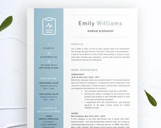 Nurse Resume Template Nursing Resume Template Medical Resume