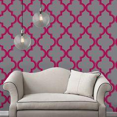 Marrakesh Repositionable Self Adhesive Wallpaper