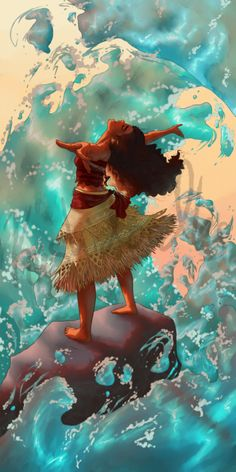 Moana fan art