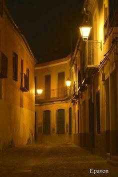 Casco viejo. Calle Vicaria. Talavera de la Reina.