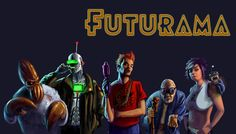 Group shot #fanart #futurama