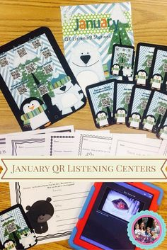 Let me handle your January listening centers all month long with these fun and engaging picture book videos and response activity sheets! All you have to do is print the set and provide the iPad. Students will be engaged with the read aloud videos and picture books that were selected all about winter, hibernation, and snow day fun!