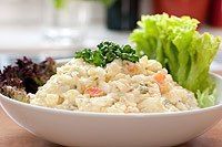 Vegetariánský bramborový salát
