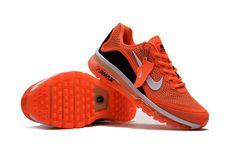 Nike Air Max 2017.5 Sport Running Shoes Men Orange Black