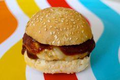 Menu: Chicken Burger and Lemony Quinoa Salad | Elizabeth Street