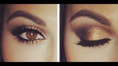 how to do a smokey eye for beginners - YouTube
