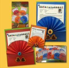 Preschool Art, Envelopes, Kindergarten, Greeting Cards, Artwork, Handmade, Gifts, Craft Flowers, Early Education