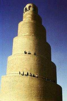 Minaret of Great Mosque, Samarra, Iraq