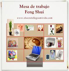 El Secreto llego a Mi Vida: Mesa de Trabajo con Feng Shui Feng Shui Your Desk, Feng Shui Home Office, Office Art, Home Office Decor, Office Setup, Feng Shui Directions, Casa Feng Shui, Feng Shui Guide, Small Office Organization