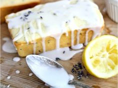 Lavender-Infused Recipes: Lemon-Lavender Greek Yogurt Pound Cake #recipe