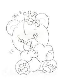 Resultado de imagem para ursinho deitado na rede