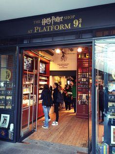 Harry potter shop!