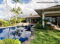 Hawaii home and backyard