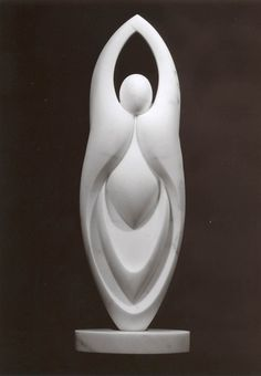 Sculptor Editt Davidovici - Abstract Sculpture - Italian Marble and Bronze Stone Sculpture, Plaster Sculpture, Sculptures Céramiques, Art Sculpture, Outdoor Sculpture, Modern Sculpture, Sculpture Romaine, Art Pierre, Italian Marble