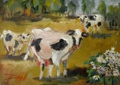 Painter Pig: Cows in the Landscape