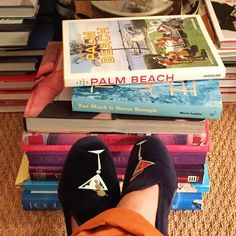 Too much is never enough  #stubbsandwootton #classiccollection #palmbeachisland #velvetslippers