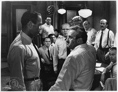 Henry Fonda, Martin Balsam, Jack Klugman, Lee J. Cobb, Edward Binns, John Fiedler, E.G. Marshall, and George Voskovec in 12 Angry Men (1957)