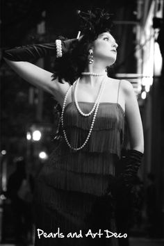 Wealthy girls wore pearls to try and look fancy Girls Wear, Women Wear, 1920s Looks, Honeymoon Packages, Roaring 20s, Occupational Therapy, Therapy Ideas, Technology News, Hair Designs