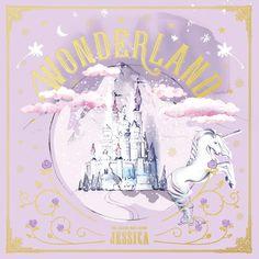 East Asia Addict: [CD] Jessica – WONDERLAND (2nd Mini Album)