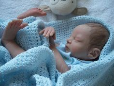 ooak polymer clay newborn baby doll sculpture