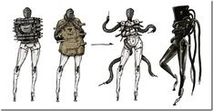 Early Concept Designs For Metal Gear Rising: Revengeance's Mistral - Siliconera