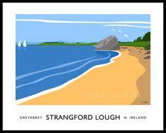 Strangford Lough painting
