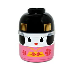 Now wouldn't this be an adorable Kimono Bento Box Set lunchbox to open at the office!