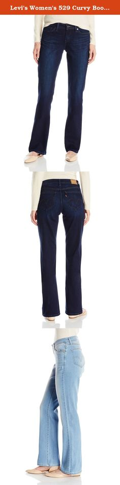 5bdb2a78070 Levi's Women's 529 Curvy Bootcut Jean. Designed for the woman with a full  seat and