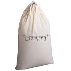 Laundry Bag Laundry Hanging by badbatdesigns on Etsy, $25.00