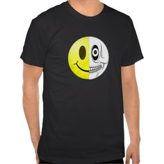 Cute funny. Halloween Smiley Skull Tee shirts. Many styles available. Clothes, clothing, fashion, for men, women, children, toddlers, kids, boys, girls, infant creepers. Fleece Tops, Polo shirts. Tank Tops. Hoodies. Sweatshirts.
