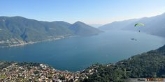 Flying to Ascona.. the scenery is absolutely gorgeous!