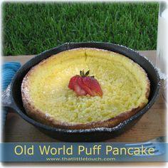 Old World Puff Pancake