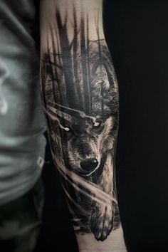 Tattoos From Around The World – Voyage Afield Wolf Tattoo Design, Tribal Wolf Tattoo, Lion Tattoo Sleeves, Wolf Tattoo Sleeve, Sleeve Tattoos, Wolf Tattoos Men, Arm Tattoos For Guys, Animal Tattoos, Inner Arm Tattoos