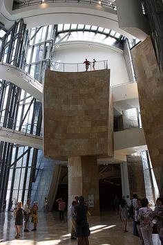 File:Guggenheim Museum interior, Bilbao, July 2010 (04).JPG
