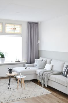 CALM COLLECTED GREY ROOM PEACEFUL UNLESS YOU HAVE MESSY KIDS OR GEUESTS, LOL-