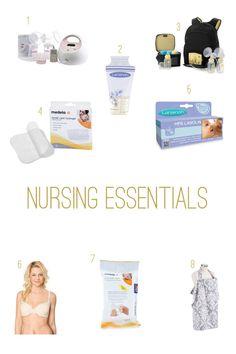 Nursing Essentials #nursing #breastfeeding #essentials