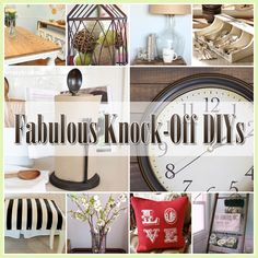 20 Fabulous Pottery Barn Knock-Offs that you are going to want to create!