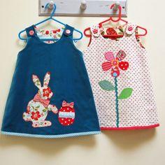 Baby & toddler dress pattern Petal Reversible Dress sewing pattern sizes months to 8 years. Girls Easter Dresses, Little Girl Dresses, Girls Dresses, Summer Dresses, Diy Vetement, Reversible Dress, Pdf Sewing Patterns, Baby Sewing, Girl Outfits