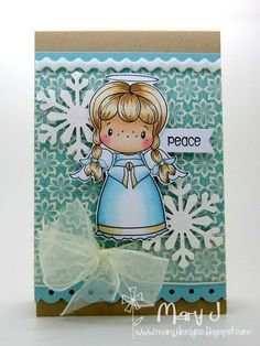 Mary Johnson: Mary J Designs -  for C. C. Designs - 12/24/14  Pin#1: CC Designs. Pin+: Christmas: Angels/...)