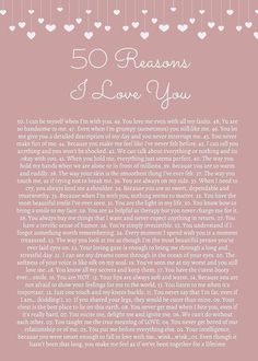 50 Reasons I Love You (birthday cards for friends 52 reasons. 50 Reasons I Love You (birthday cards for friends 52 reasons. Cute Boyfriend Gifts, Love You Boyfriend, Bf Gifts, Valentines Gifts For Boyfriend, Boyfriend Anniversary Gifts, Monthsary Message For Boyfriend, Cute Notes For Boyfriend, Open When Letters For Boyfriend, Boyfriend Boyfriend