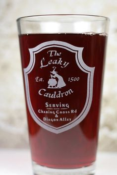 The Leaky Cauldron Butterbeer Glass ($15)