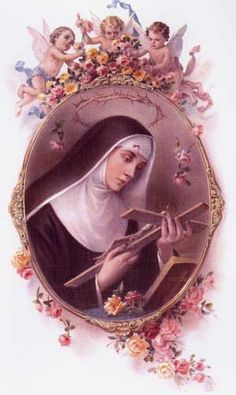 St. Rita; My confirmation name  She is amazing....