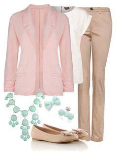"""""""Teacher Outfits on a Teacher's Budget 124"""" by allij28 ❤ liked on Polyvore featuring MANGO and ONLY"""