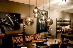Dining Room Lighting, Dining Rooms, Floor Lamp, Projects To Try, Chandelier, Ceiling Lights, Modern, House, Ideas